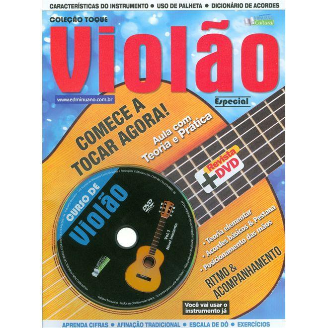 Kit Violão Acústico Iniciante Vogga Vca104n + Completo