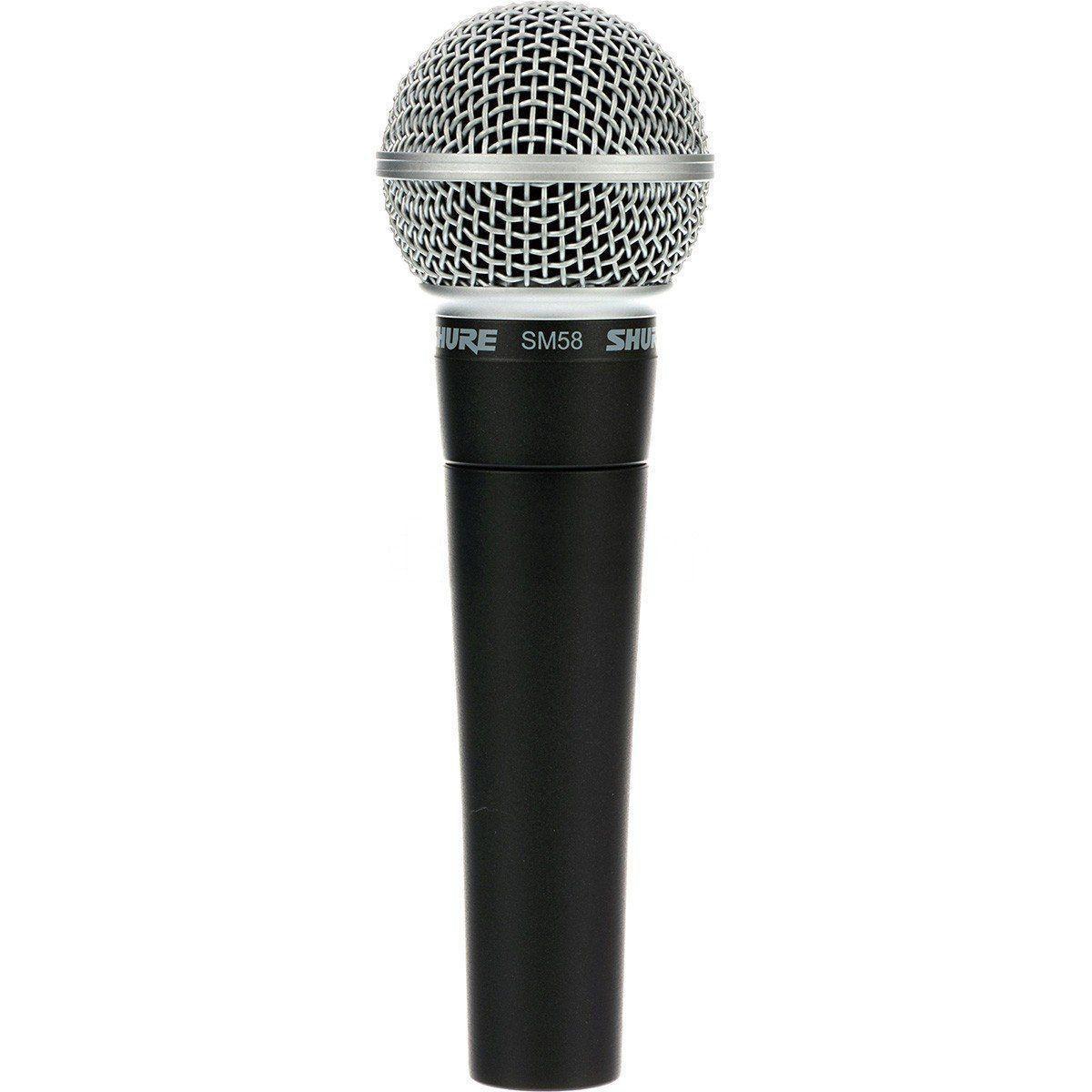 Microfone Shure Profissional Sm58 Lc