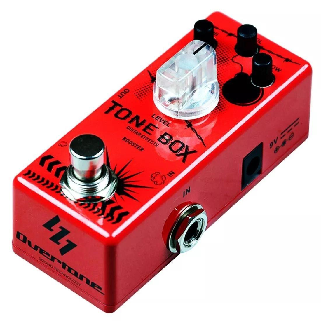 Pedal Overtone Tone Box Booster