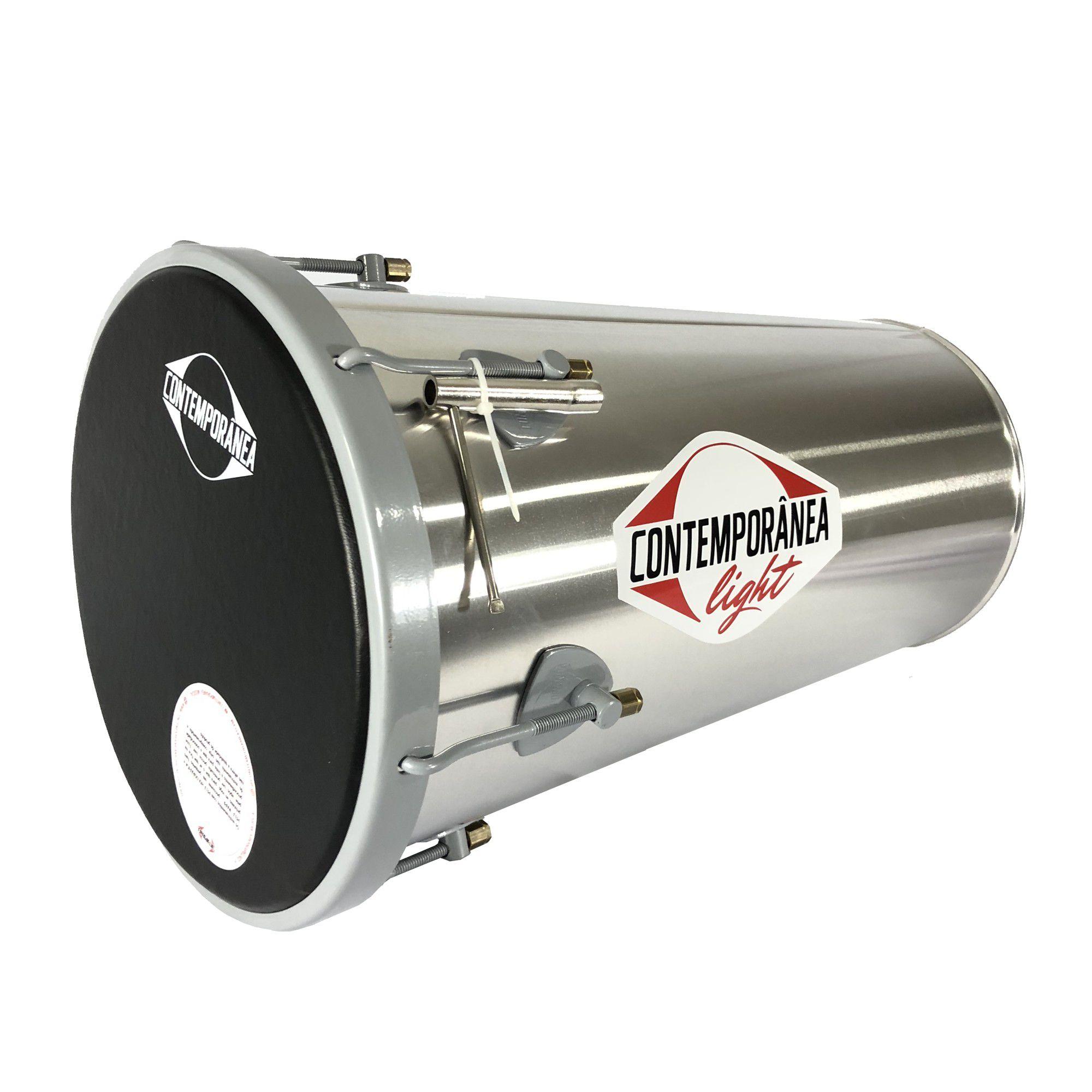 Rebolo Contemporanea Light 1224Lt 10 Pol Conico Aluminio