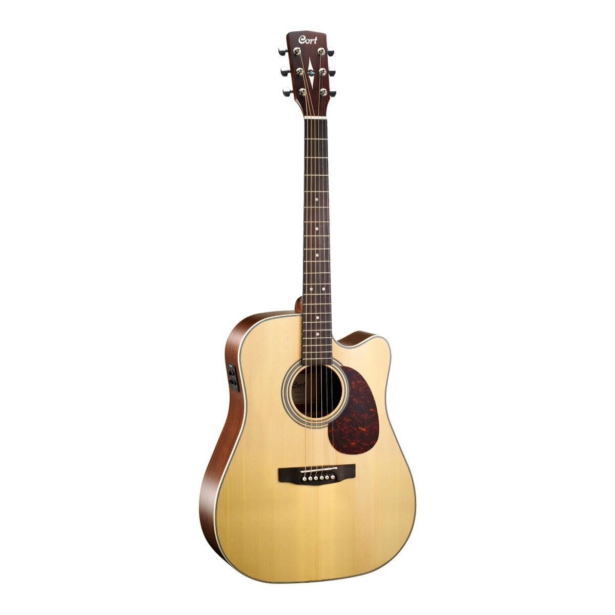 Violao Cort Mr600F Ns Solid Spruce Fishman