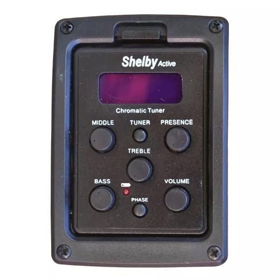 Violao Shelby Folk Eletrico Sgd195C Stnt