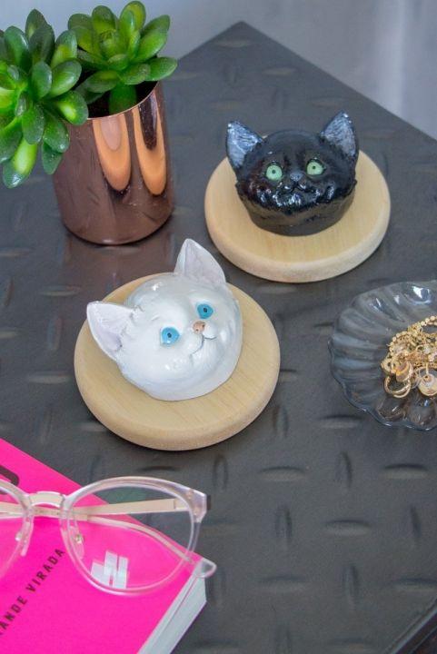 Gato Decorativo Kitten