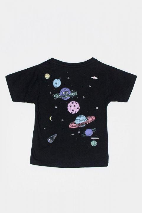 T-shirt Infantil Planetas