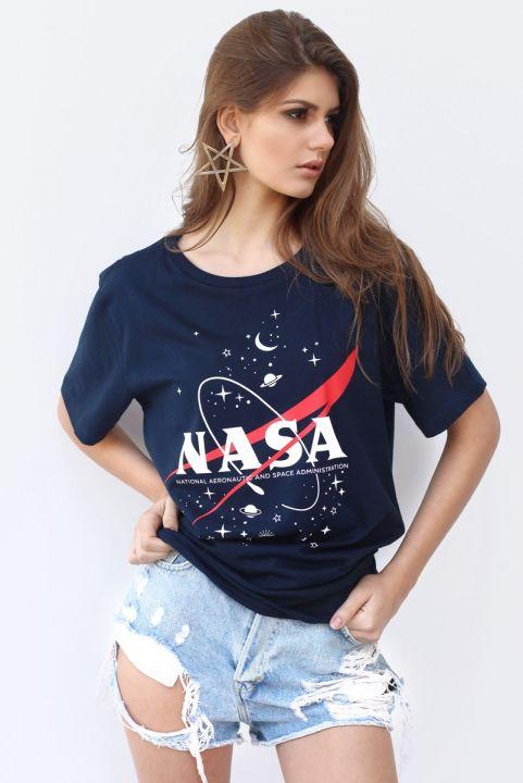 T-shirt Nasa Navy