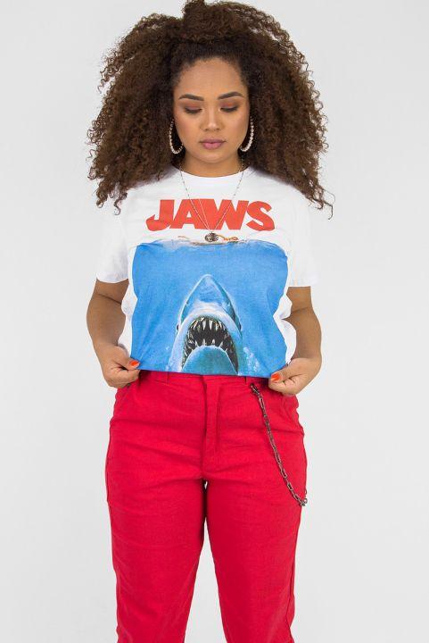 T-shirt Uni Tubarão Jaws