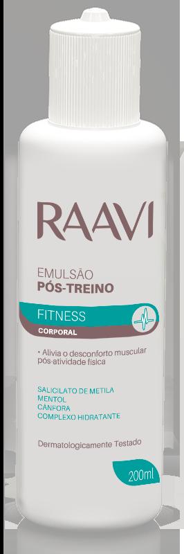 EMULSÃO PÓS TREINO ARNICA FITNESS RAAVI 200ML
