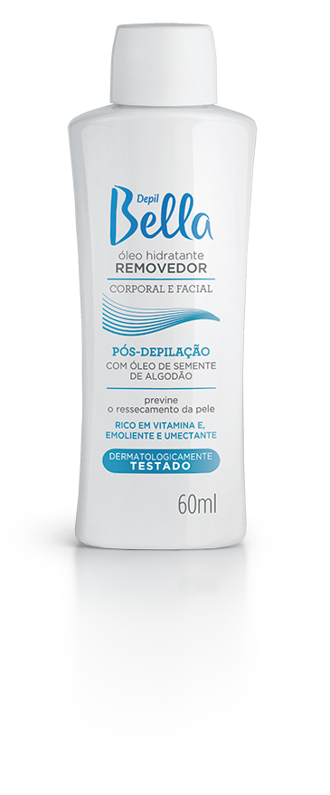 ÓLEO REMOVEDOR ALGODÃO DEPIL BELLA  60ML