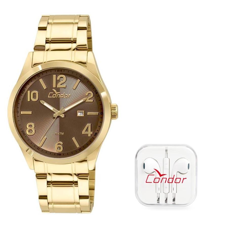 918904fff7d Relógio Condor Masculino Ref  Co2115xa ks4m + Fone de Ouvido - Relógios Web  Shop