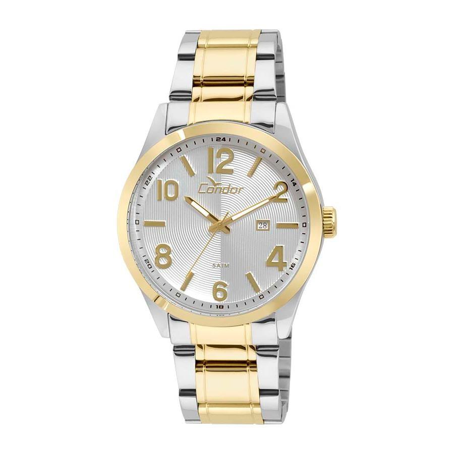 175989f55fd Relógio Condor Masculino Ref  Co2115xb 5k Casual Bicolor - Relógios Web Shop