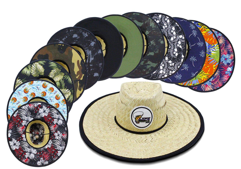 Chapéu de Palha para Pesca, Praia e Lazer - LIFE PESCA