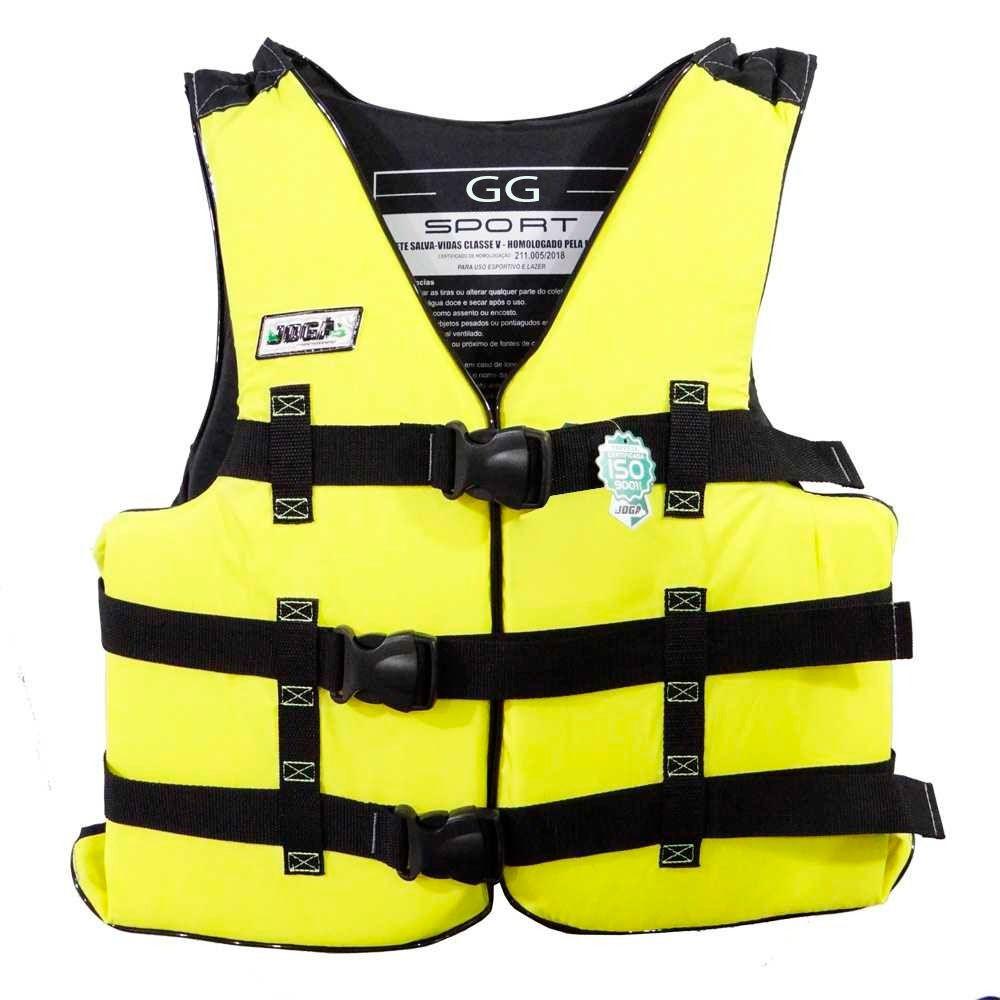 Colete Salva Vidas Jogá Homologado Classe 5 Sport - GG (Acima de 110kg)