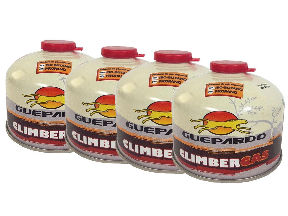Kit com 4 Cartuchos de Climber Gás - Guepardo