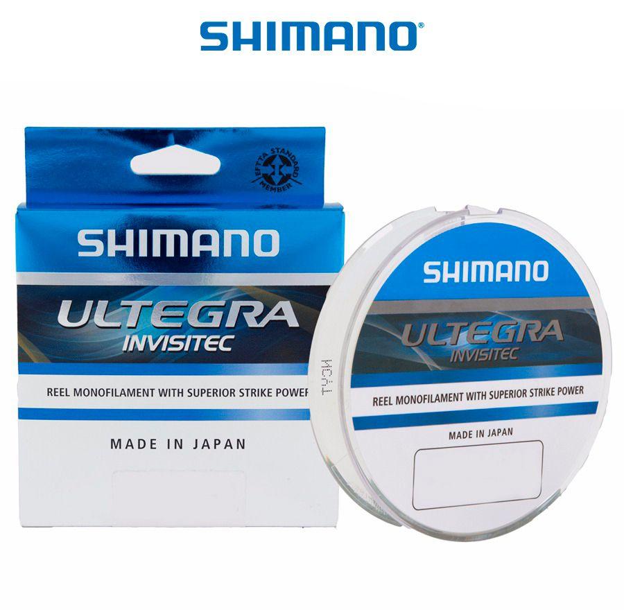 Linha Monofilamento Shimano Ultegra Invisitec 0,28mm 17,80/8,10kg - 300 Metros