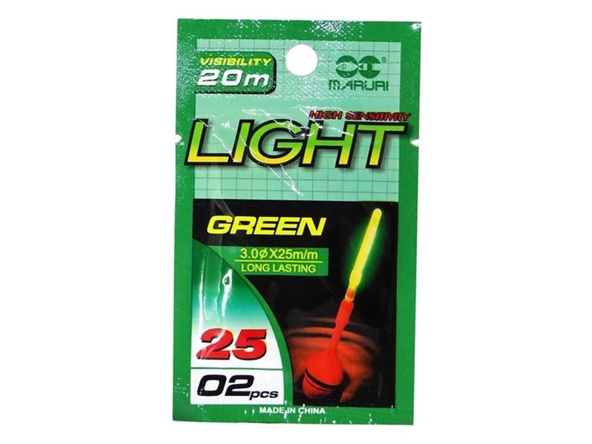 Luz Química Iluminador Maruri Light Stick - 3.0 X 25mm - 02 Peças