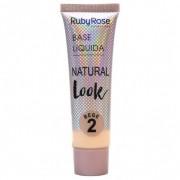Base Líquida Natural Look Ruby Rose