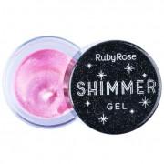 Shimmer Gel Ruby Rose