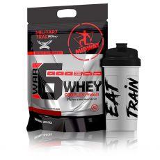 War 6 Complex Whey Protein 1,8kg + Coqueteleira - Midway