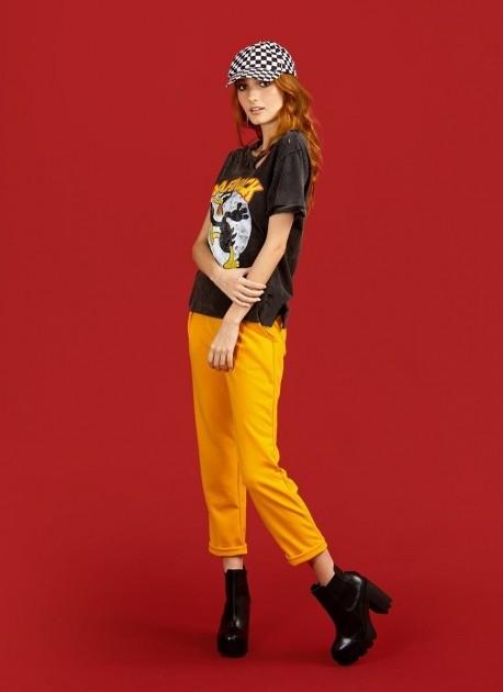 Camiseta Feminina Patolino Crazy Duck