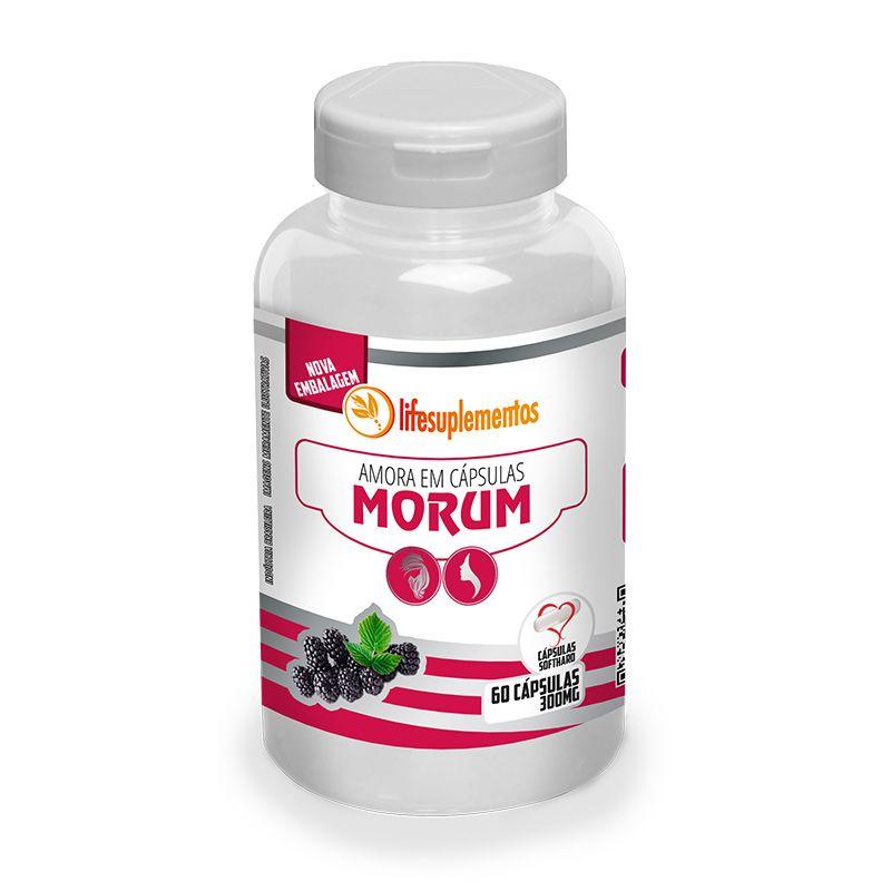 Amora - Morum - 60 Cáps. - 300mg - Melcoprol