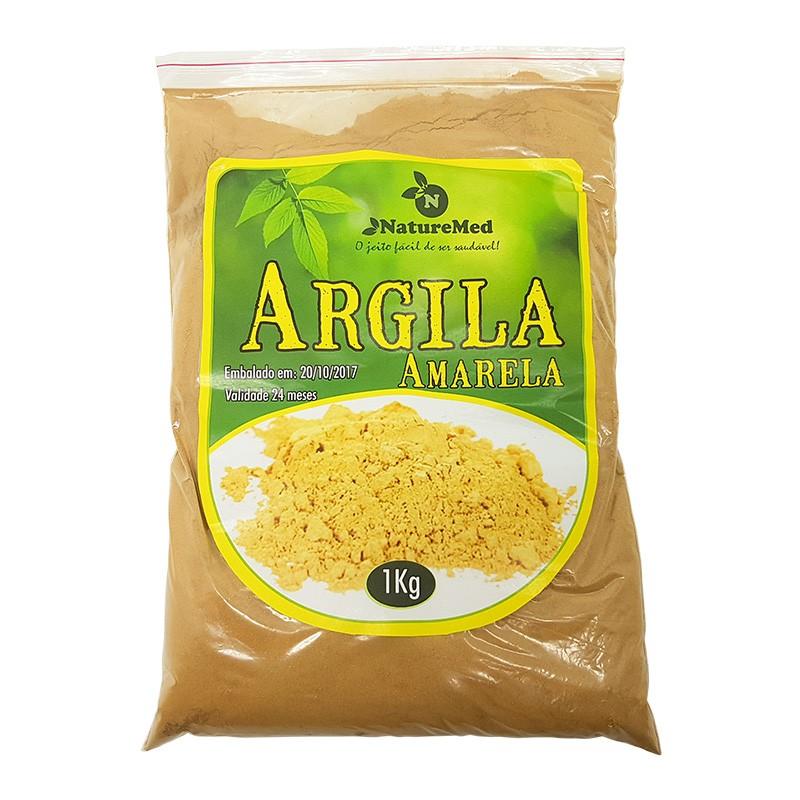 Argila Amarela - 1kg