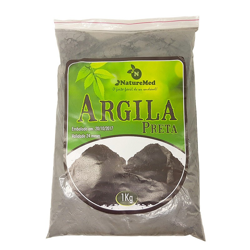Argila Preta - 1kg