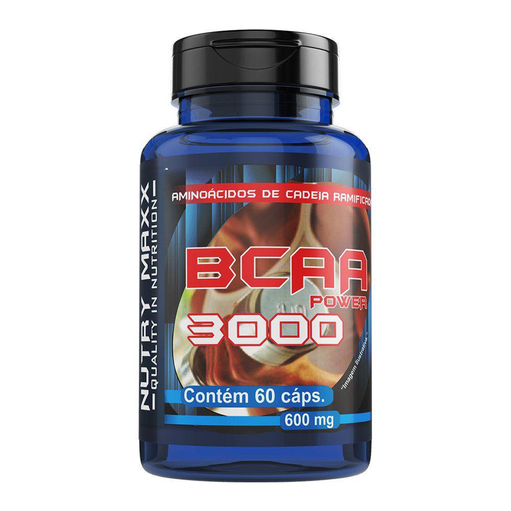 BCAA 3000 - 60 cáps. - 600mg - Melcoprol