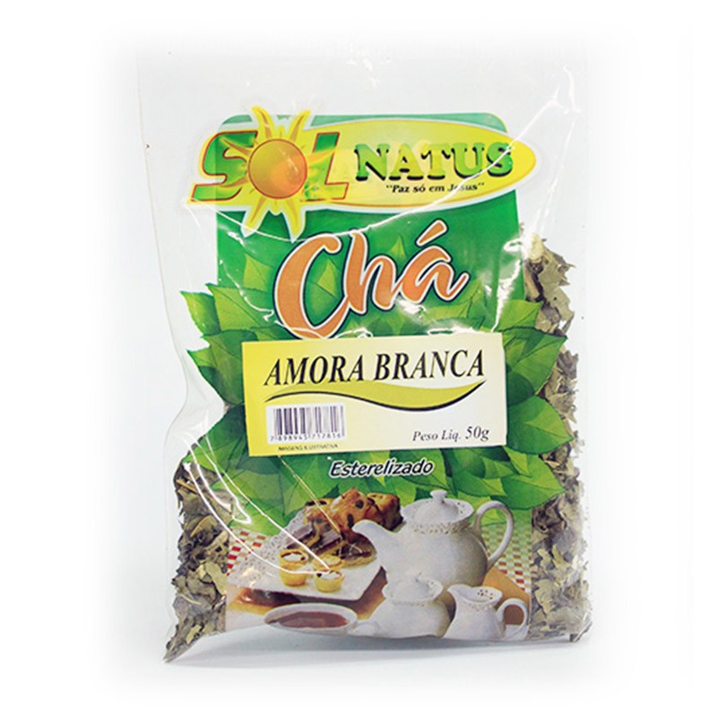 Chá de Amora Branca - 50g