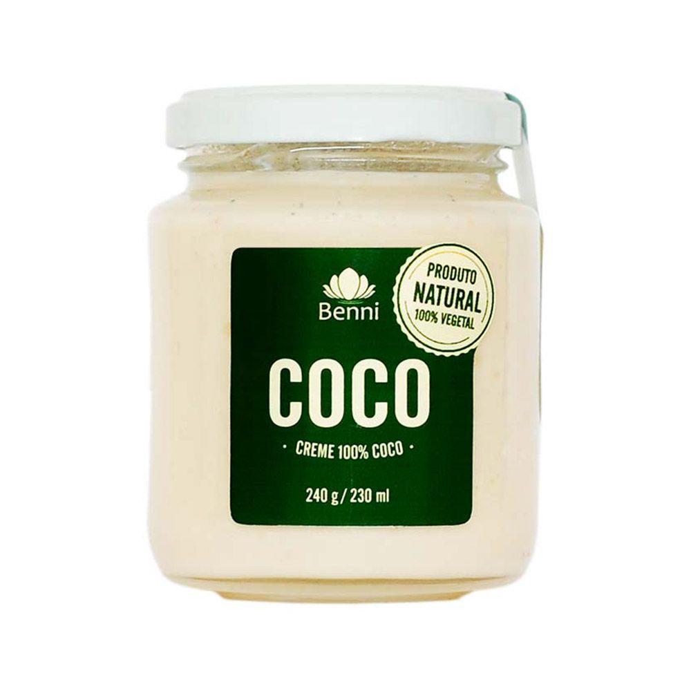 Creme de Coco 220g - Benni