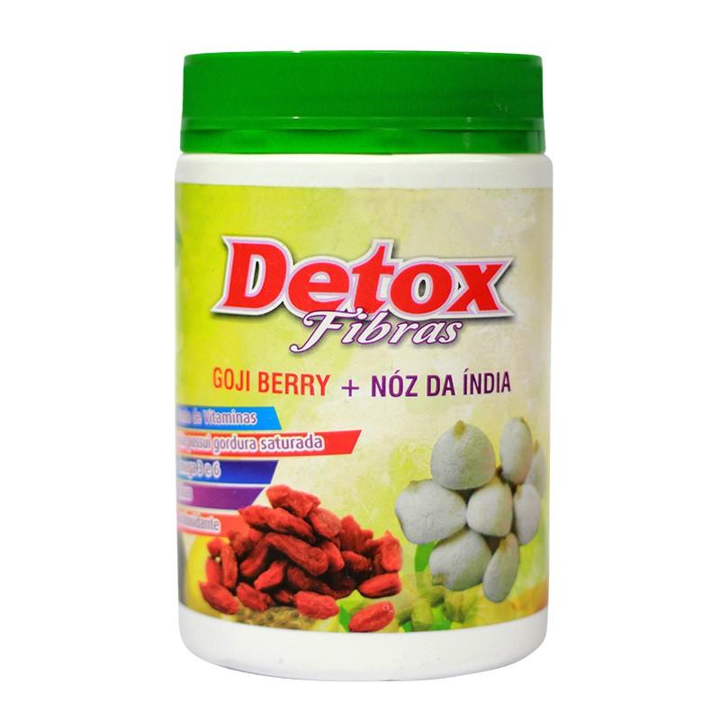 Detox Fibras - Goji Berry + Noz da Índia - 400g