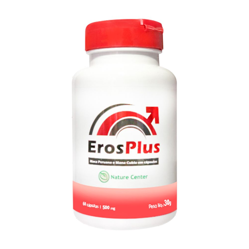 Eros Plus - 60 Cáps. - 500mg - Nature Center