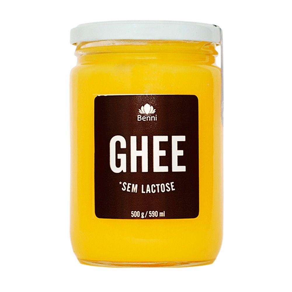 Manteiga GHEE Tradicional 500g - Benni