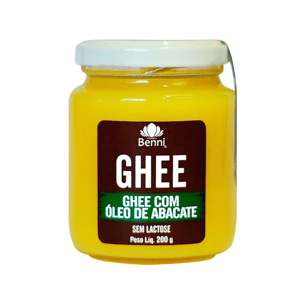 Manteiga GHEE com Óleo de Abacate 200g - Benni