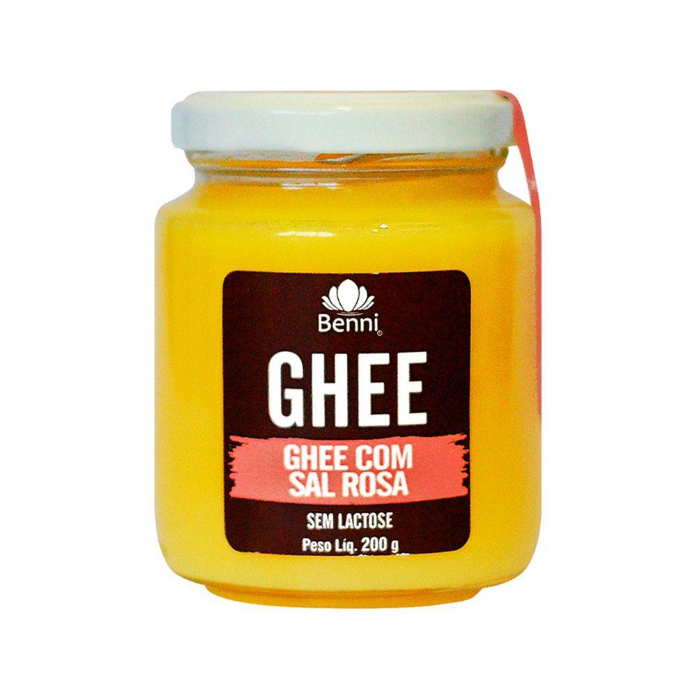 Manteiga GHEE com Sal Rosa Himalaia 200g - Benni