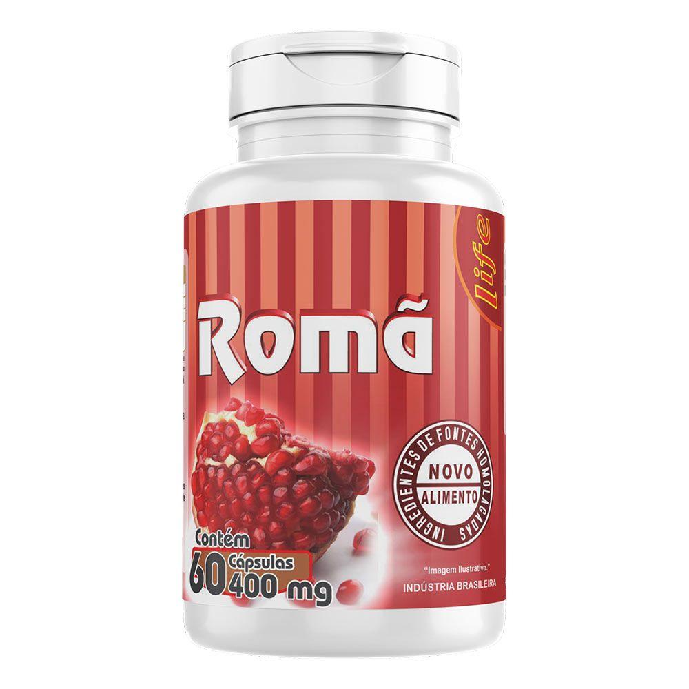 Romã - 60 Cáps. - 400 mg - Melcoprol
