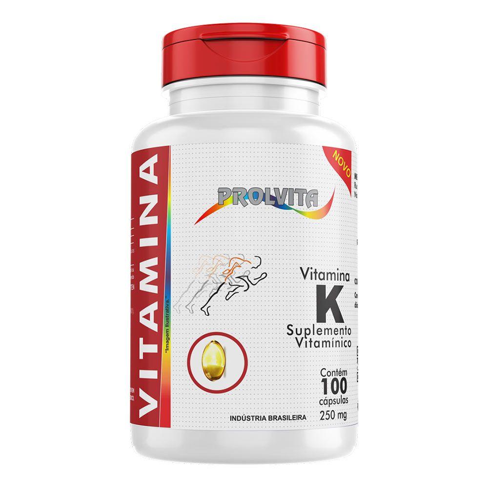 Vitamina K - 100 Cáps. - 250 mg - Melcoprol