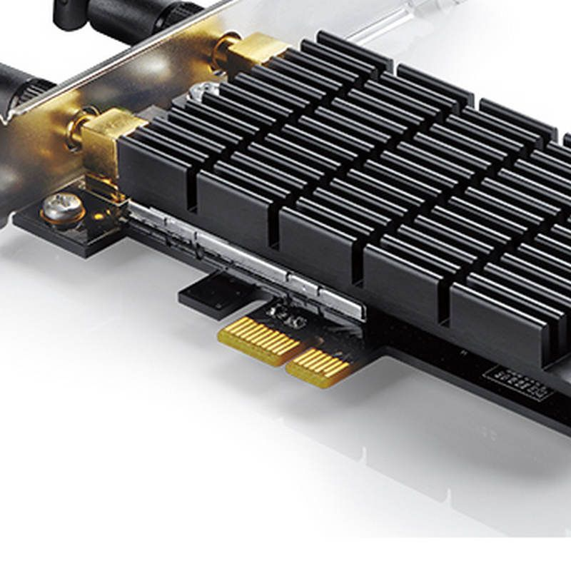 Adaptador PCI Express Wireless Dual Band Ac1300 Tp-Link Archer T6E