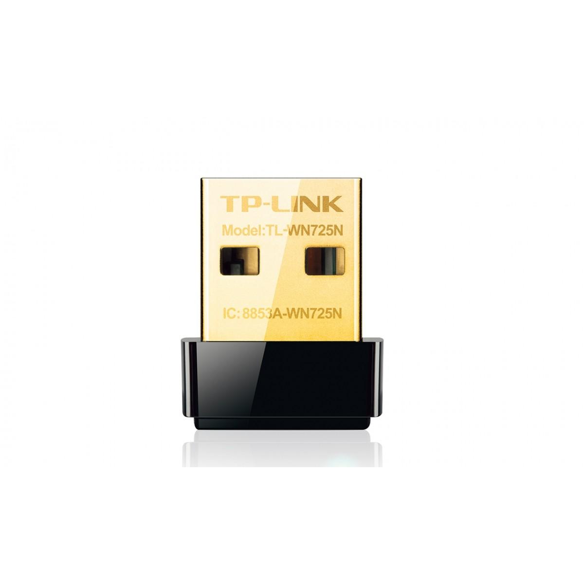Adaptador Usb Wireless 150mbps Nano Tp-link Tl-wn725n