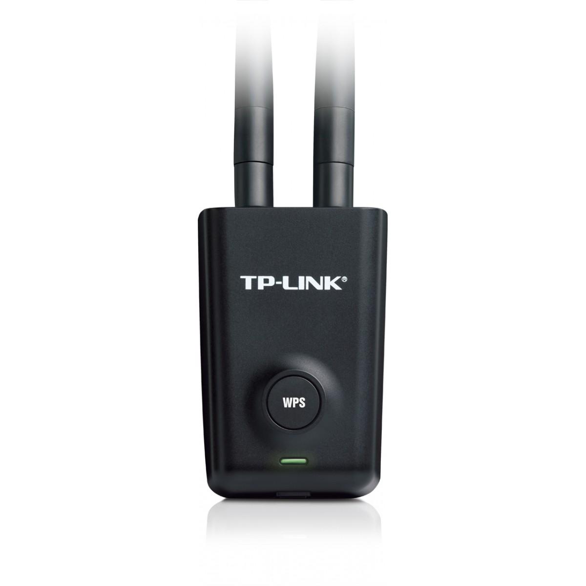 Adaptador Usb  Wireless 300mbps 5-dbi Tp-link Tl-wn8200nd