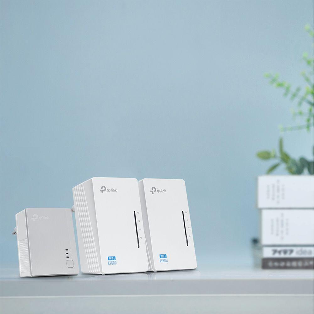 Novo Extensor Wireless Powerline Tp-link Tl-wpa4220t Kit Triplo V3.0