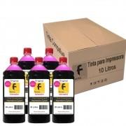 Kit Tinta para impressora Epson Compatível Formulabs Magenta 10 Litros