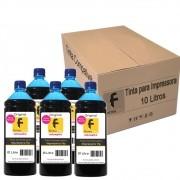 Kit Tinta para impressora HP Compatível Formulabs Cyan 10 Litros