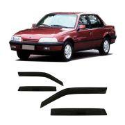 Calha Chuva Monza 1993 1994 1995 1996 4p Defletor Fumê #2232