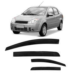 Calha Fiesta Sedan 04 05 06 07 08 09 10 11 12 13 14 15 4 portas Fumê