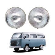 Farol - D10, C10, C14, A10, Opala, Caravan, Veraneio - Sealed Beam - 180mm C/ Luz De Estacionamento - Marca Inov9