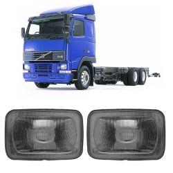 Farol Volvo Fh Máscara Cromada 97 98 99 00 01 02 03
