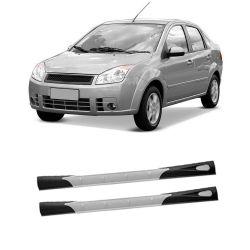 Spoiler Lateral Fiesta Sedan 02 03 04 05 06 07 08 09 10 11 12 13 14 4 portas Modelo Flywind
