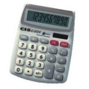Calculadora de Mesa 10 DIG.MOD.C-204 10,7X13,3CM.