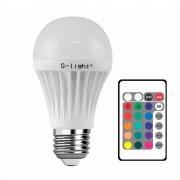Lamp.Led A60 G-Light E-27 3w Rgb Biv.