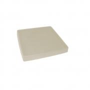 Prato P/ Vaso Japi Quadrado 30cm ***Cimento